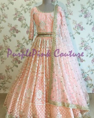 Thread Work Lehenga Choli Net