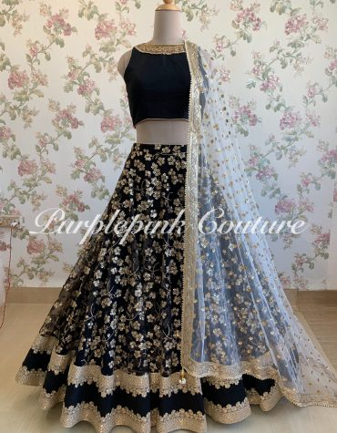 Kashish Black Lehenga Choli