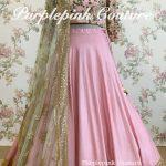 Rose Lehenga Choli Heavy Thread Sequins Embroidery