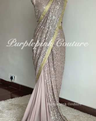 Gabriella Heavy Sequins Saree