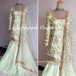 Pistachio Kashish Sharara Set